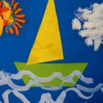 Кораблик и пластилиновое солнце