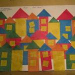 Мой дом: коллективная аппликация