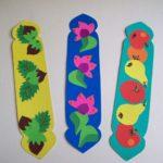 Закладки с орехами, цветами, овощами и фруктами