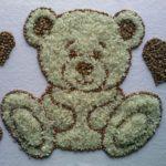 Медвежонок из круп