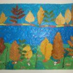 Пластилинография и осенние листья