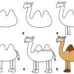Схема создания аппликации верблюда
