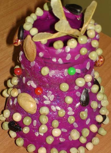 Пластилиновый торт