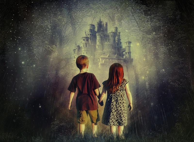 Сказка увлекает детей таинственным сюжетом и необычными персонажами