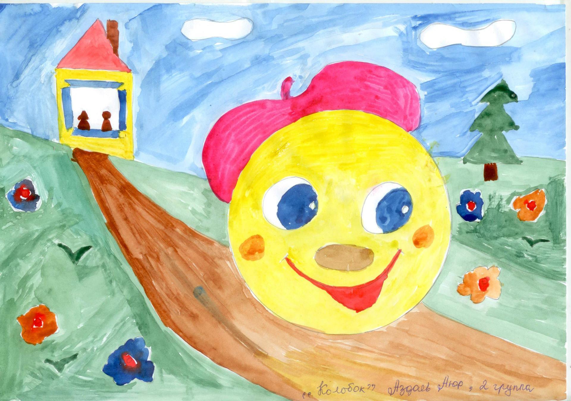 Детские рисунки герои сказок
