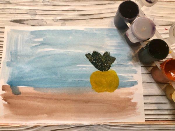 Рисунок Репка: изображение объекта