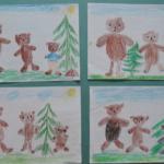 Рисунок к сказке «Три медведя»