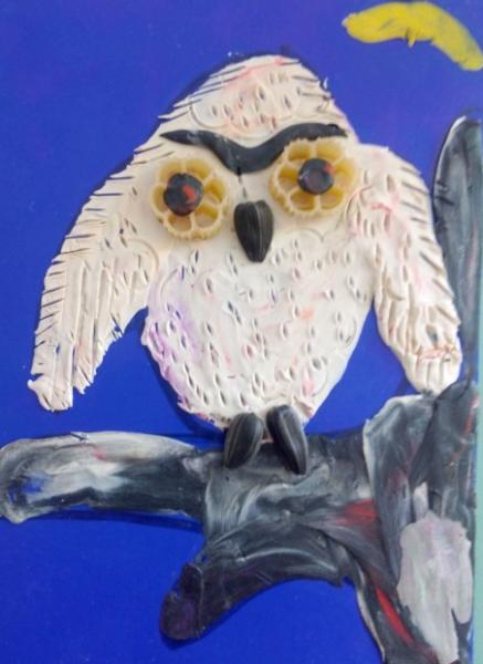Лепка: сова