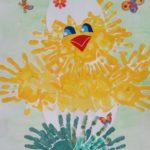 Цыплёнок в яйце: коллективная работа