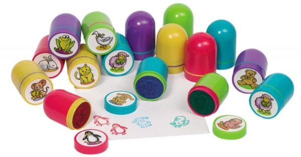 Круглые штампы для дошкольников