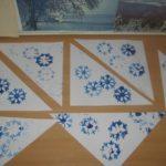 Платок для снежной бабы