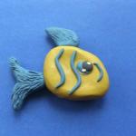 Лепка «Полосатая рыбка»