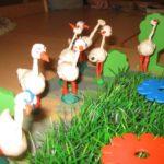 Птицы на полянке