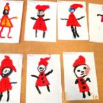 Выставка работ «Маленькие гномики»