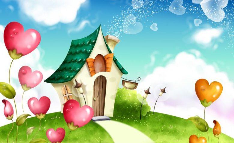 Образы домиков дети заимствуют из русских и зарубежных сказок