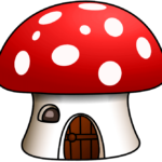 Гриб-домик