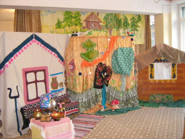 Сказочные домики в детском саду