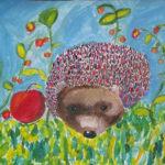 Ёжик с ягодками