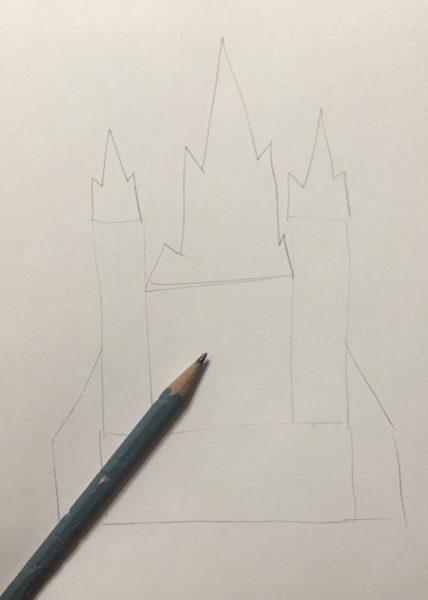 Сказочный дворец, этап 1