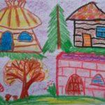 Сказочные домики трёх поросят