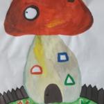 Сказочный домик — грибок