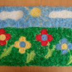 Цветочки на лугу