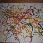 Разноцветная паутина