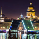 Фотография: развод мостов в Санкт-Петербурге