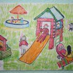 Детская площадка в моём городе