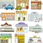Схематические изображения зданий