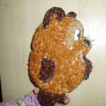 Винни-Пух из ниток