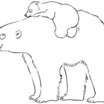 Медведь с медвежонком