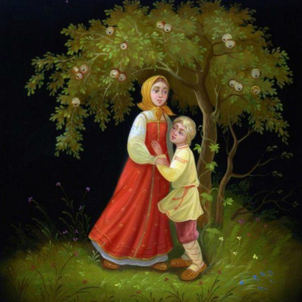 Яблонька из сказки