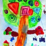 Волшебное дерево с деталями