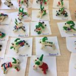 Дымковские козлики в детском саду