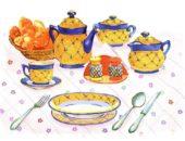 Тема «Посуда» в средней группе изучается в разных интерпретациях