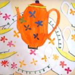 Коллективная композиция «Посуда»