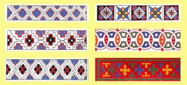 Русский геометрический орнамент