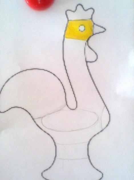 схема рисования птицы для подготовительной группы
