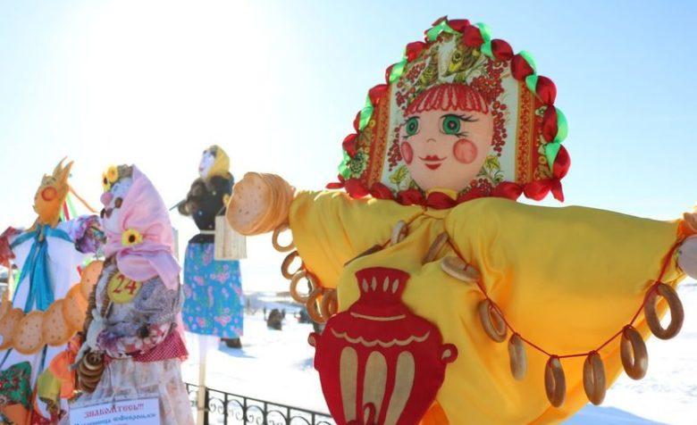 Масленичная кукла — обязательный атрибут народных проводов зимы