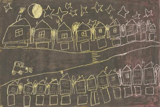 Изображение улицы ночью