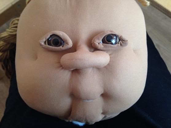Голова куклы с глазами