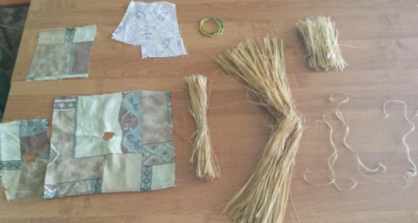 Материалы для изготовления куклы-Масленицы из лыка