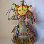 Кукла-солнышко из лыка
