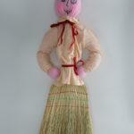 Кукла-масленица из веника