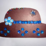 Шляпа с блёстками