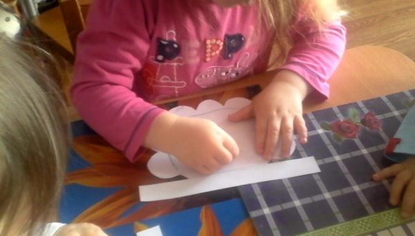 Рисование фартука в средней группе