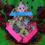 Кукла-Масленица из салфеток