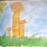 Рисунок «Семья грибов»