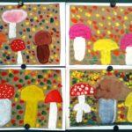 «Разные грибы» рисунки